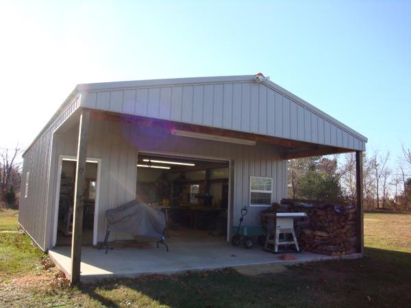 building a small shop